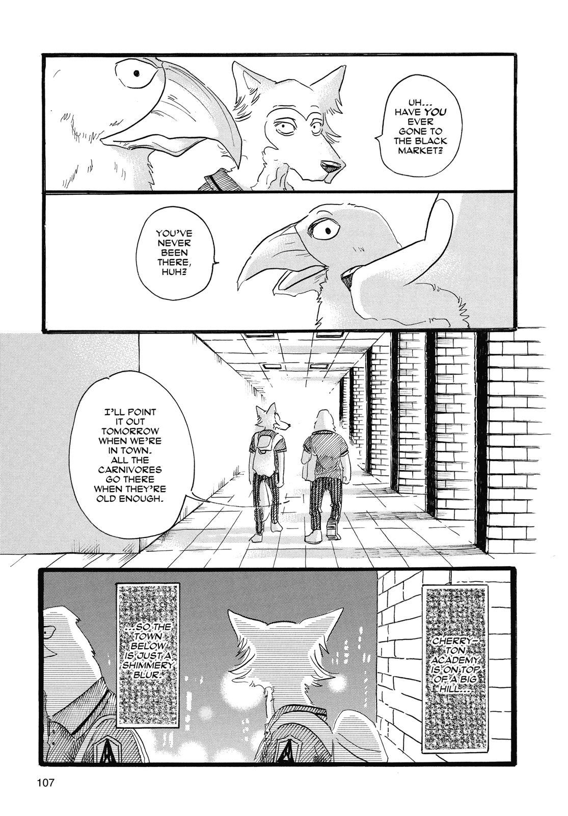 Beastars Manga, Chapter 21 image 018