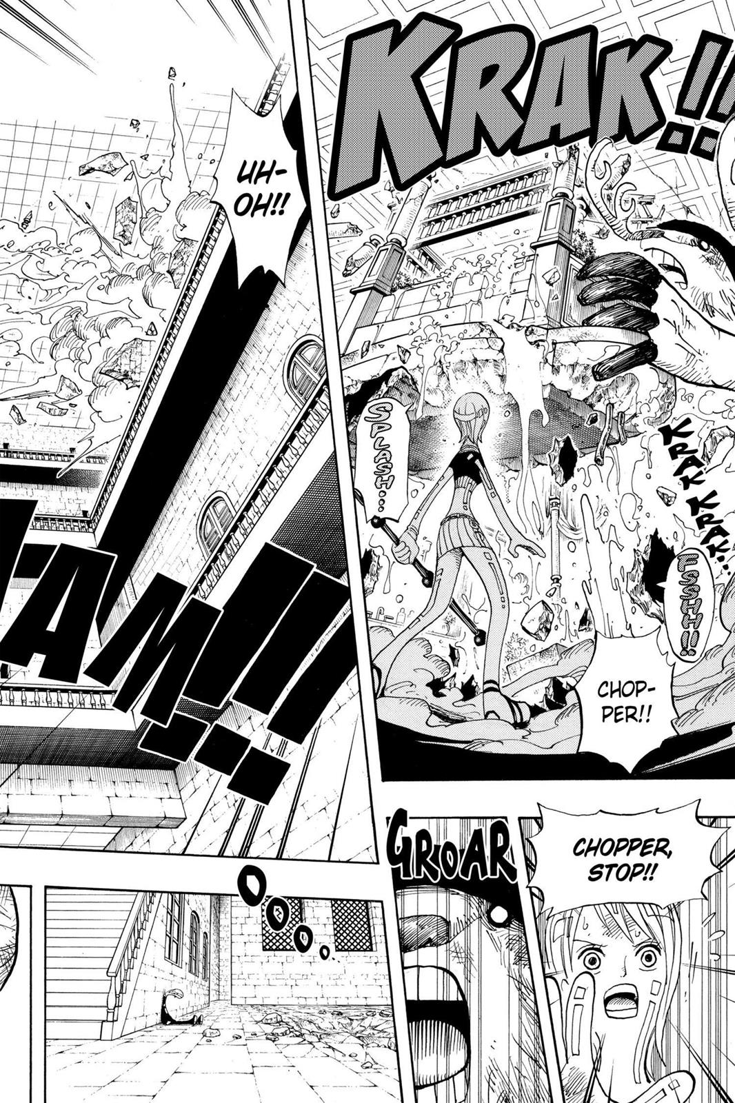 One Piece, Chapter 411 image 006