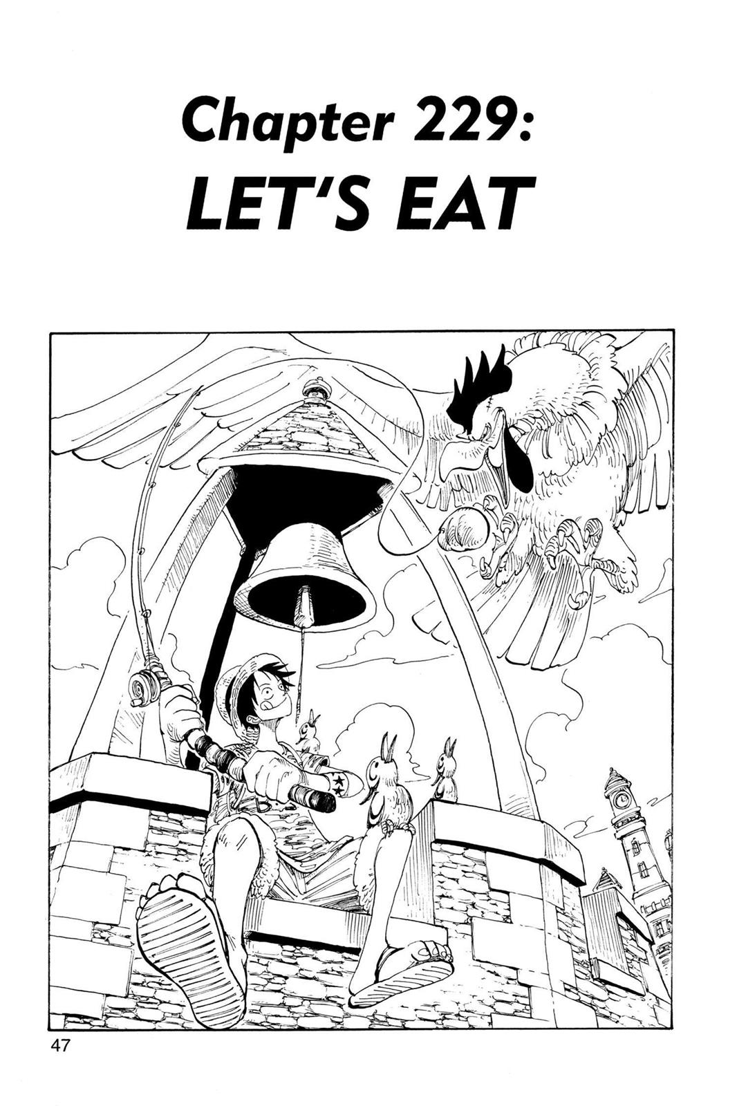 One Piece, Chapter 229 image 001