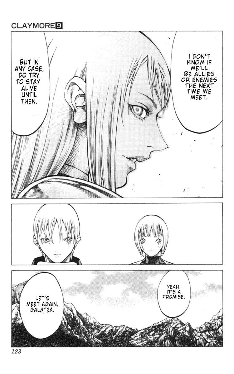 Claymore, Chapter 49 image 026