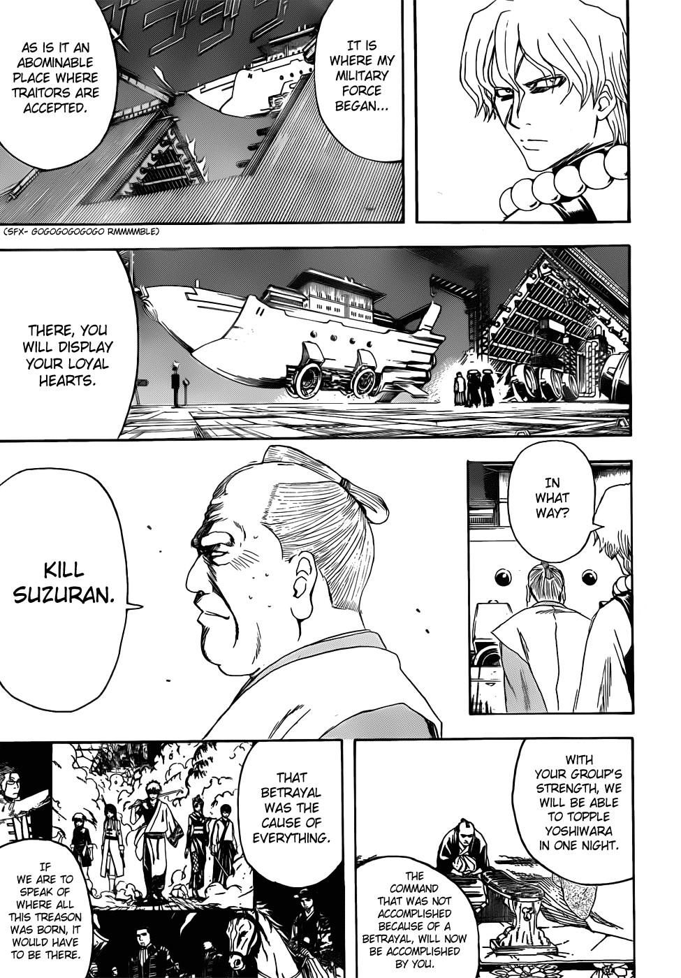 Gintama Chapter, 395 image 011