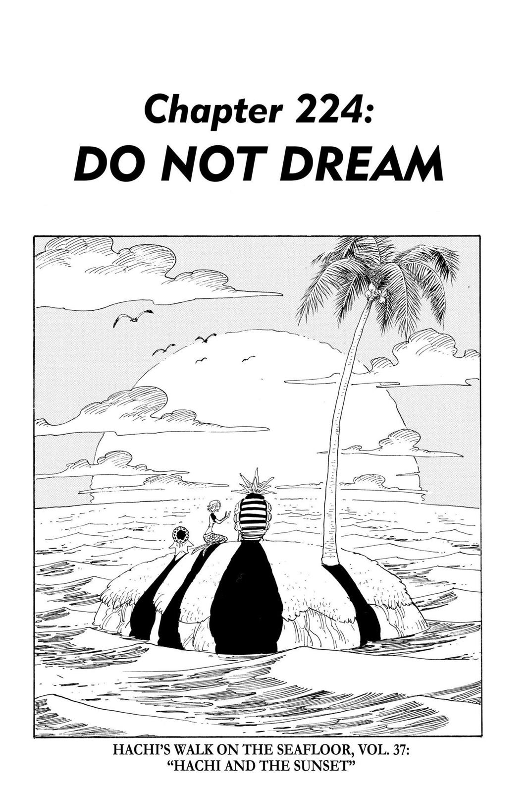 One Piece, Chapter 224 image 001