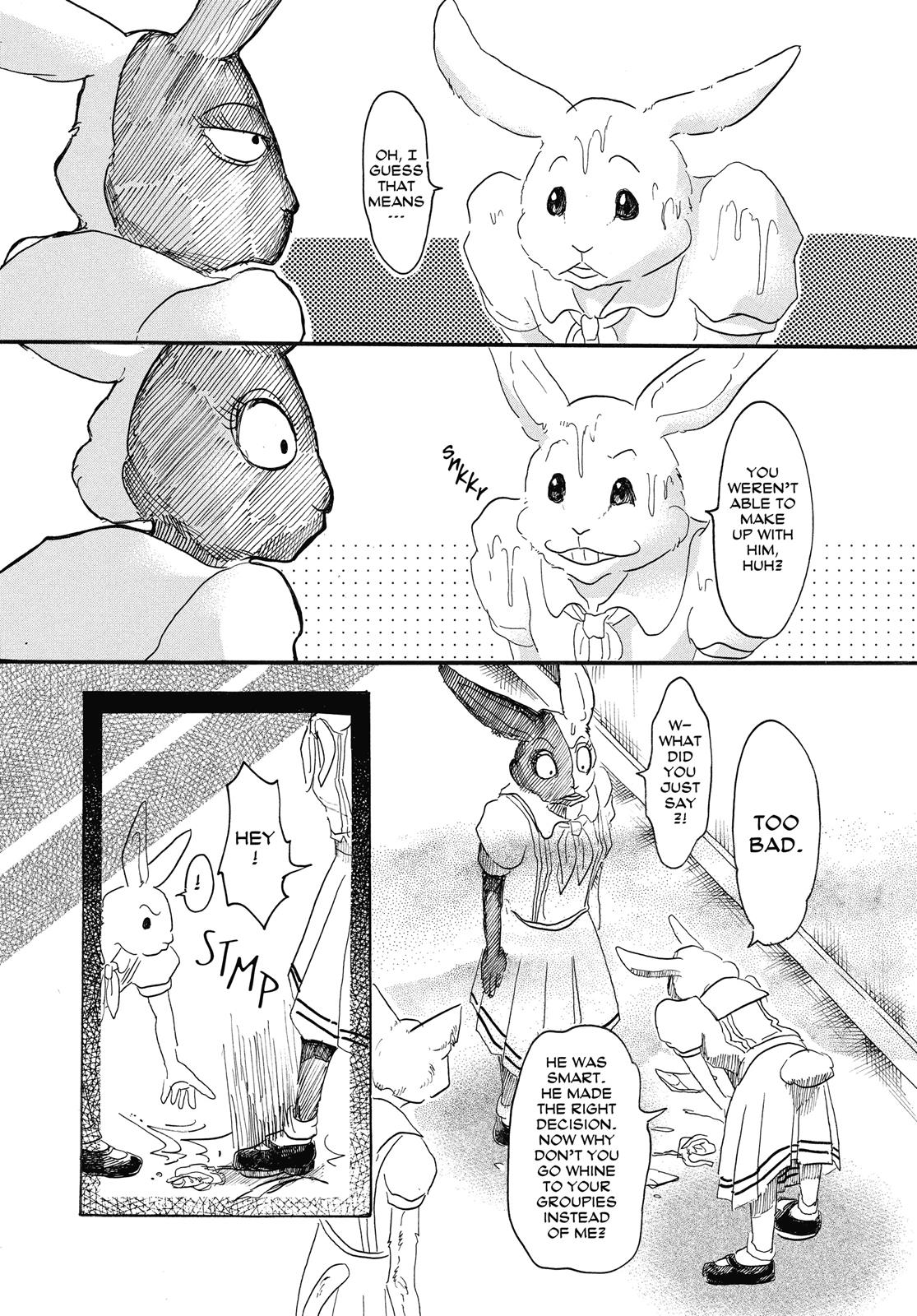 Beastars Manga, Chapter 18 image 016