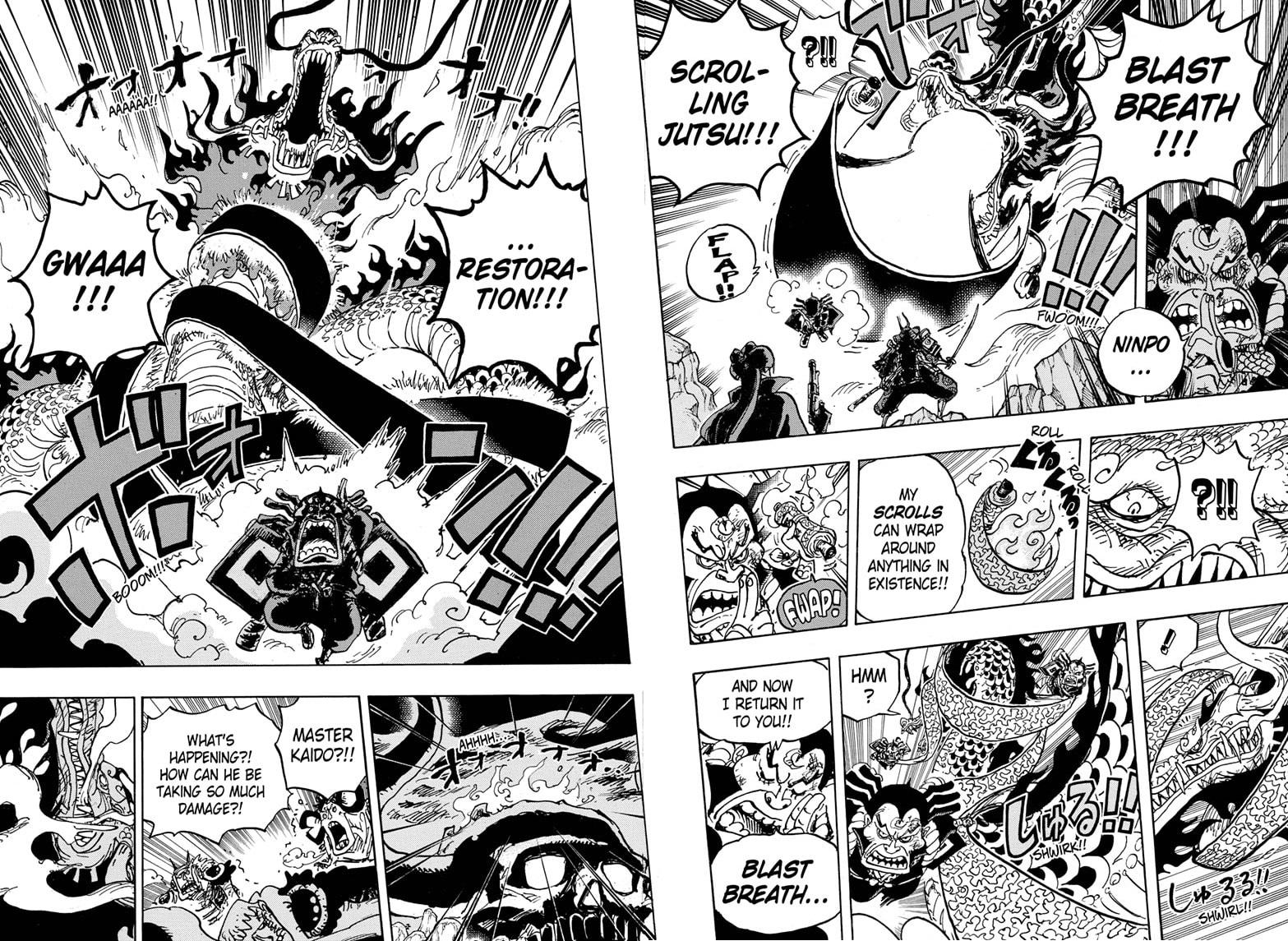 One Piece, Chapter 992 image 012