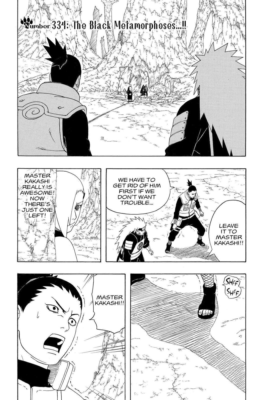 Naruto, Chapter 334 image 001