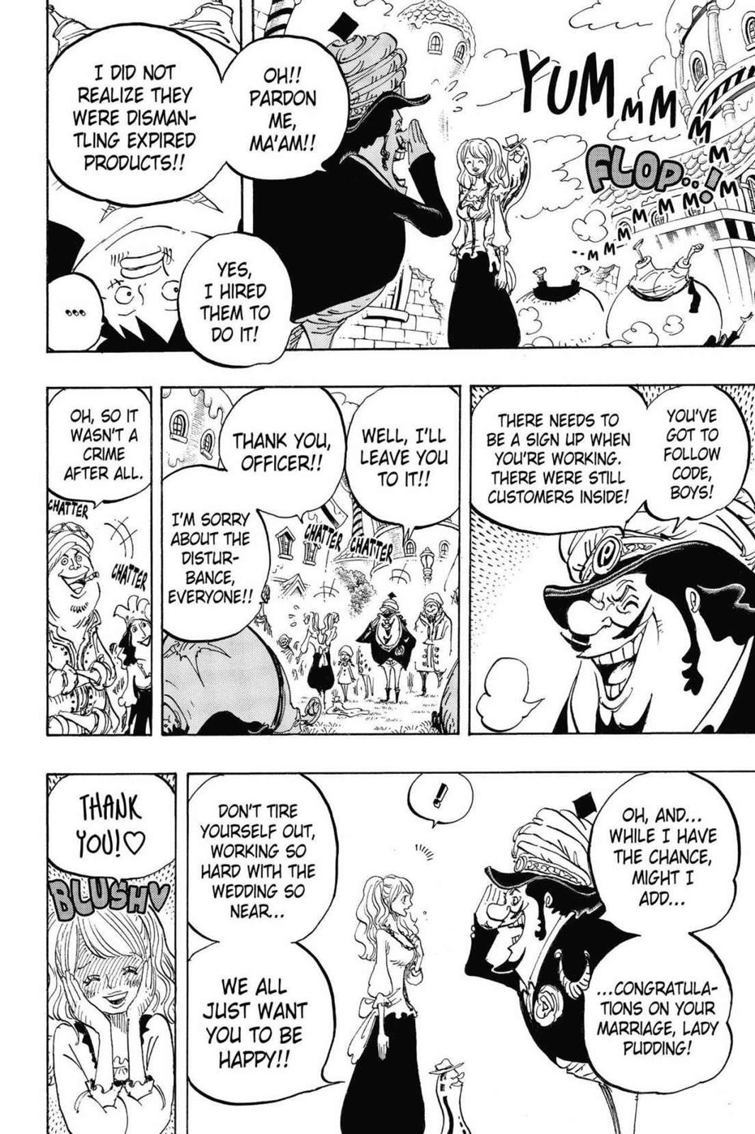 One Piece, Chapter 827 image 010