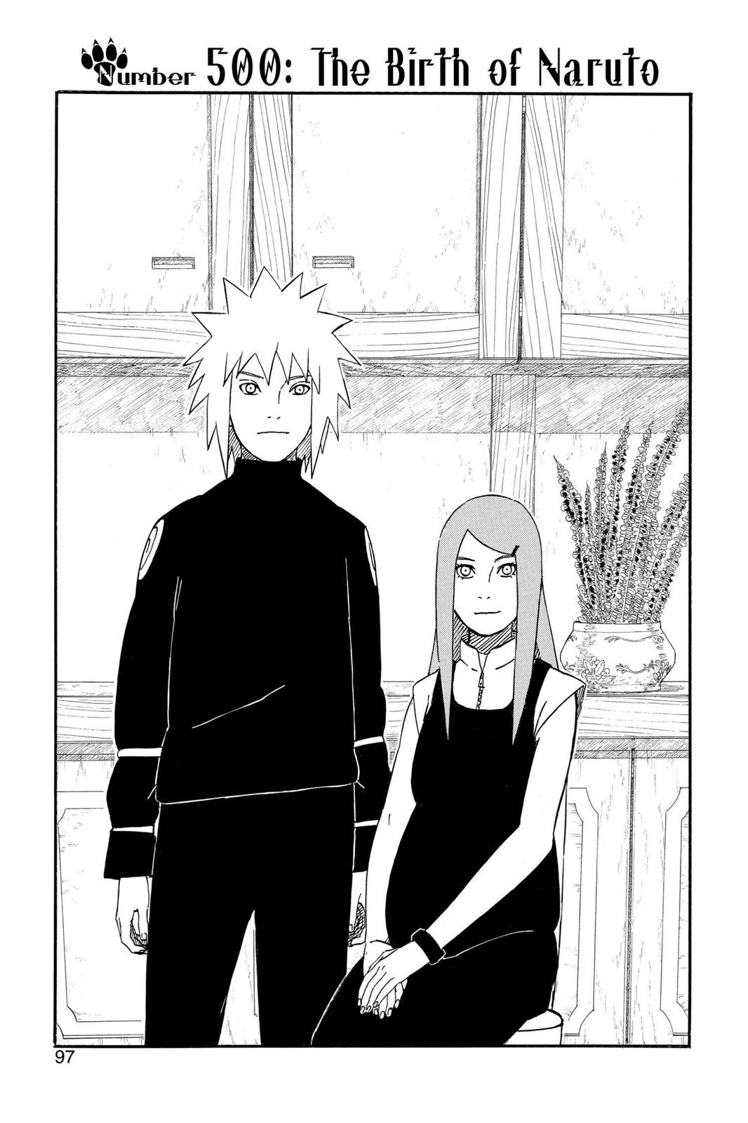 Naruto, Chapter 500 image 001