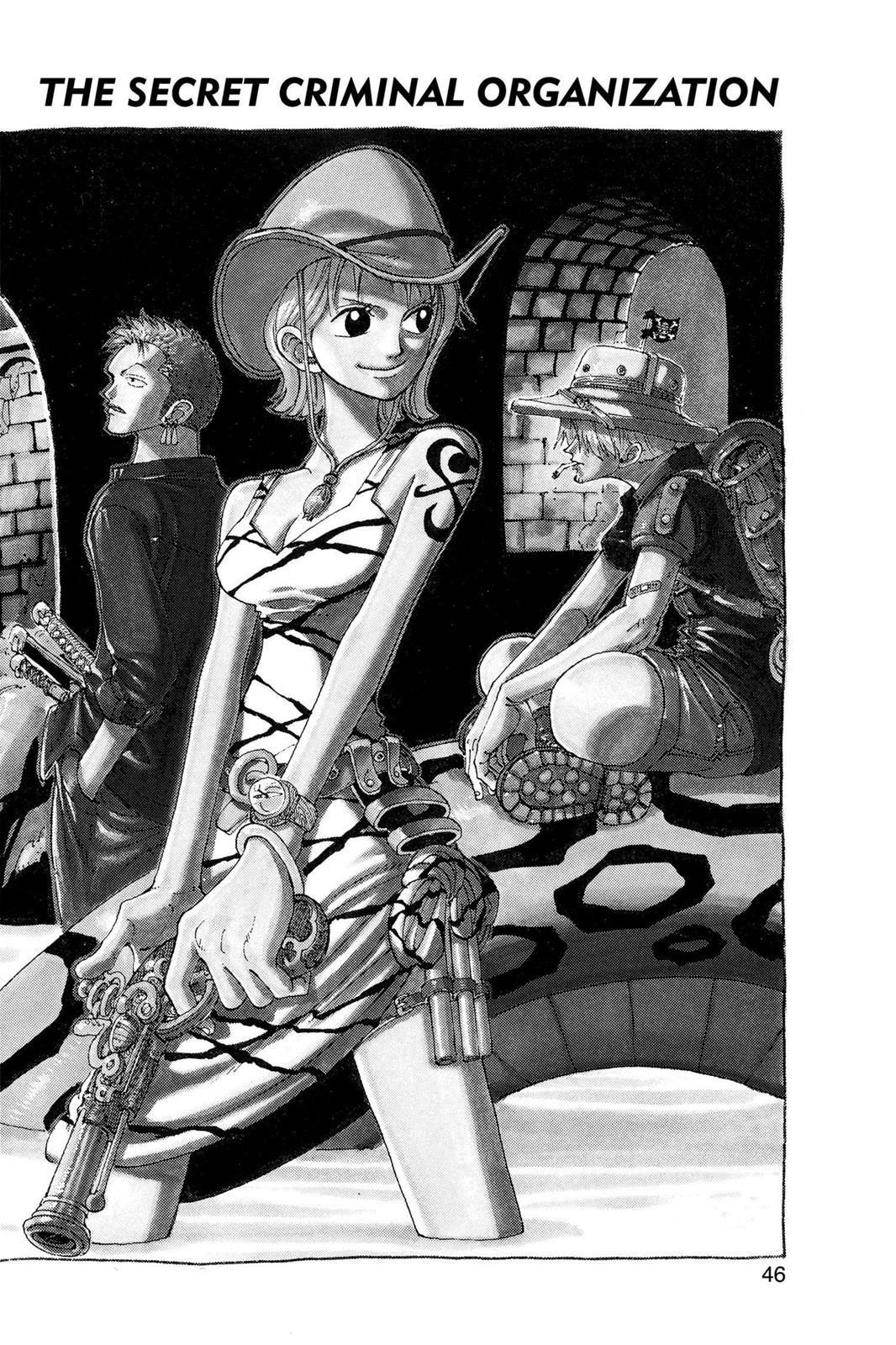 One Piece, Chapter 111 image 001