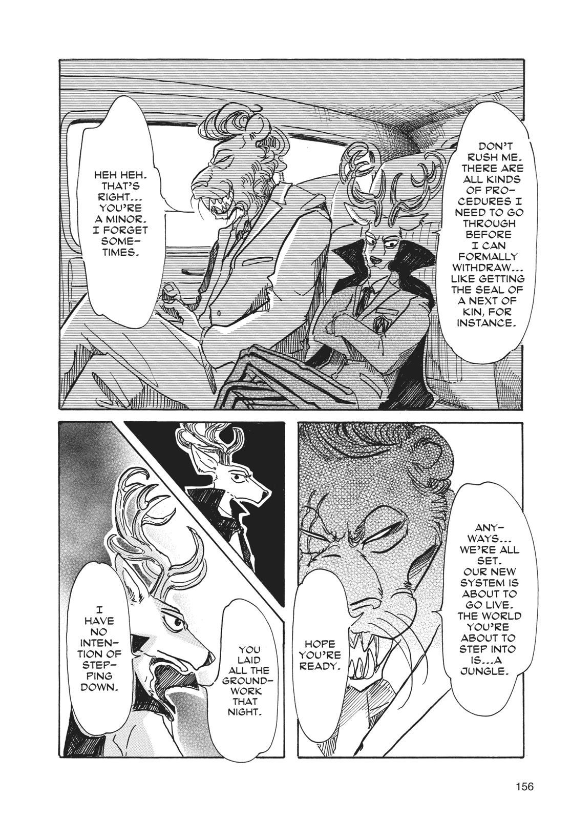 Beastars Manga, Chapter 51 image 002