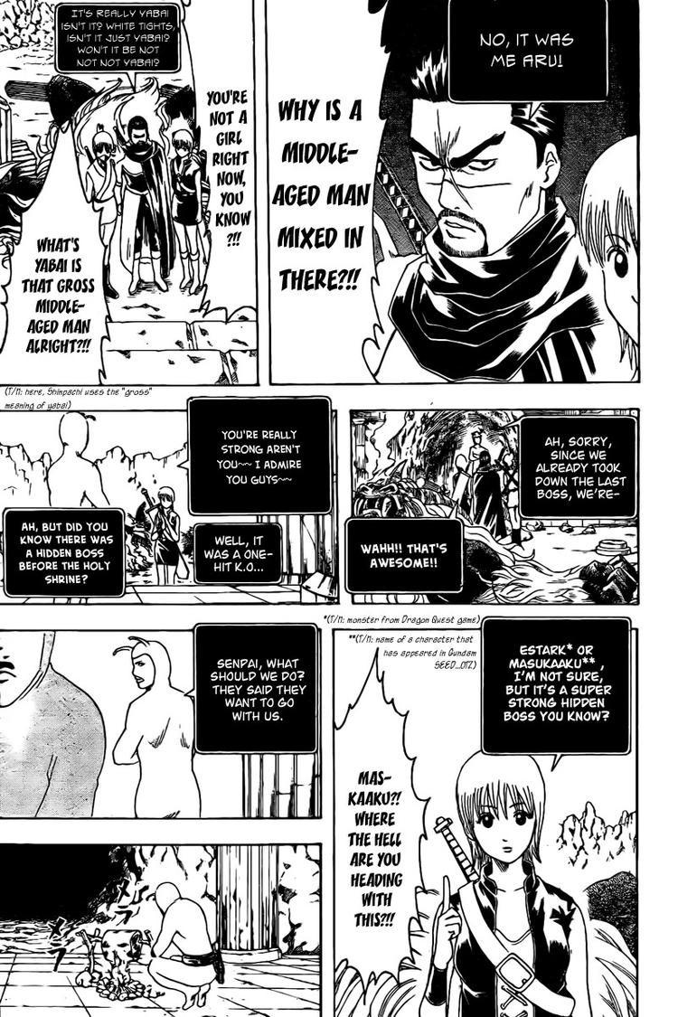 Gintama Chapter, 191 image 013