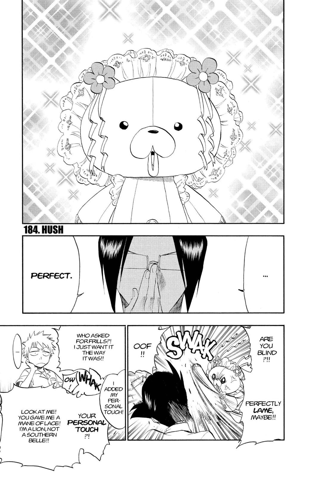 Bleach, Chapter 184 image 001