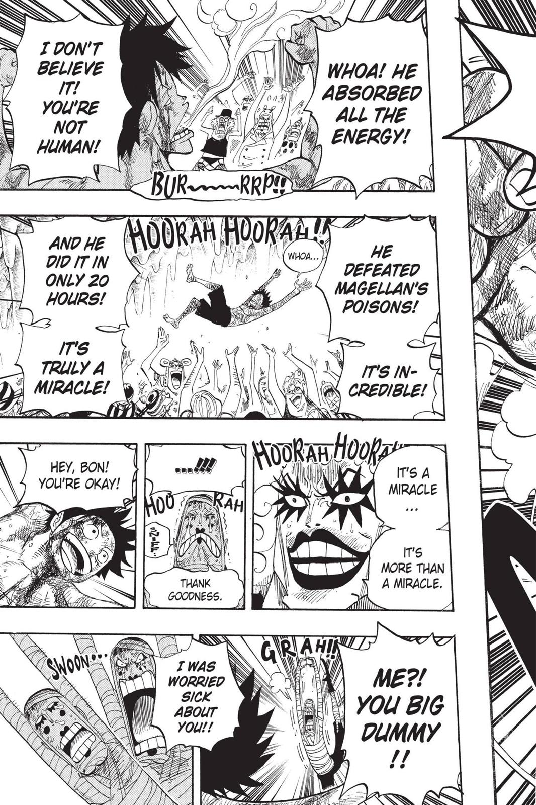 One Piece, Chapter 539 image 005