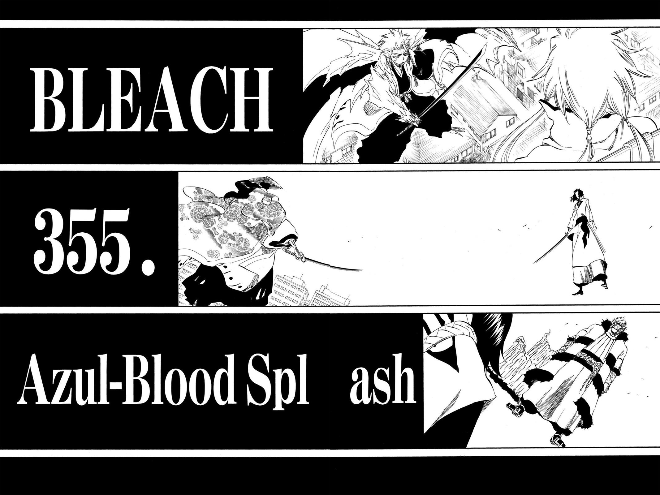 Bleach, Chapter 355 image 002