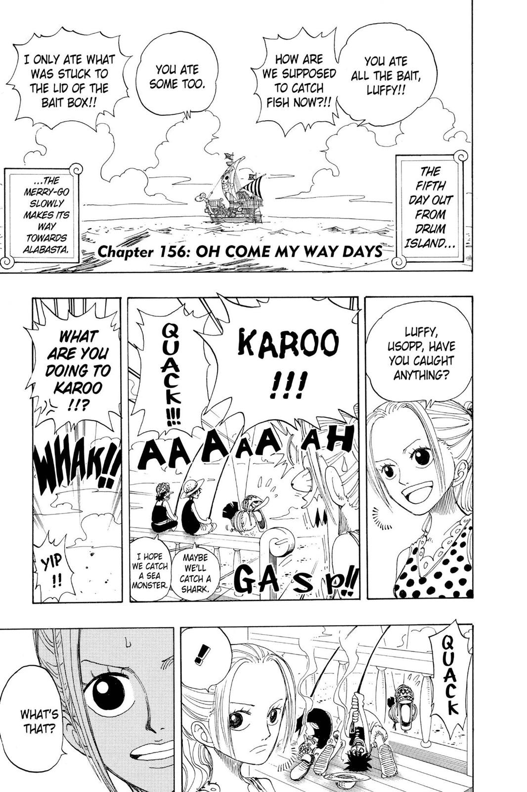 One Piece, Chapter 156 image 008