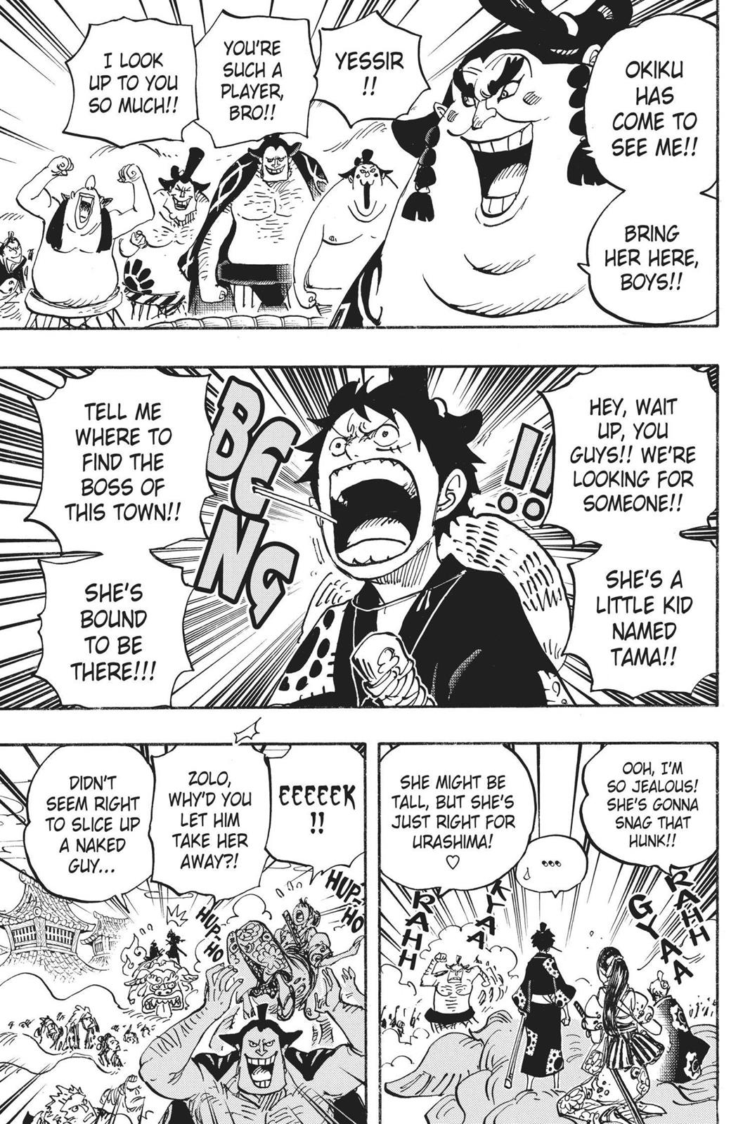 One Piece, Chapter 915 image 014