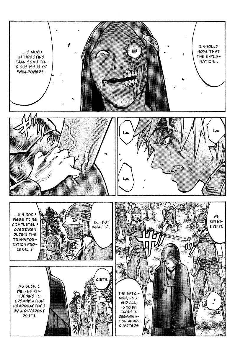Claymore, Chapter 96 image 010