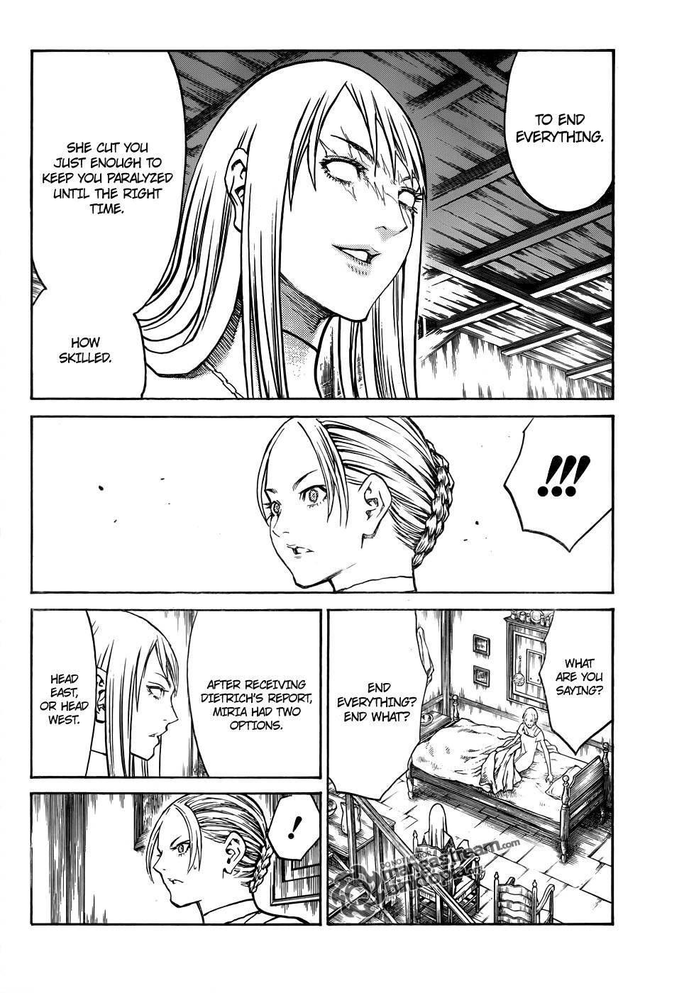 Claymore, Chapter 106 image 010