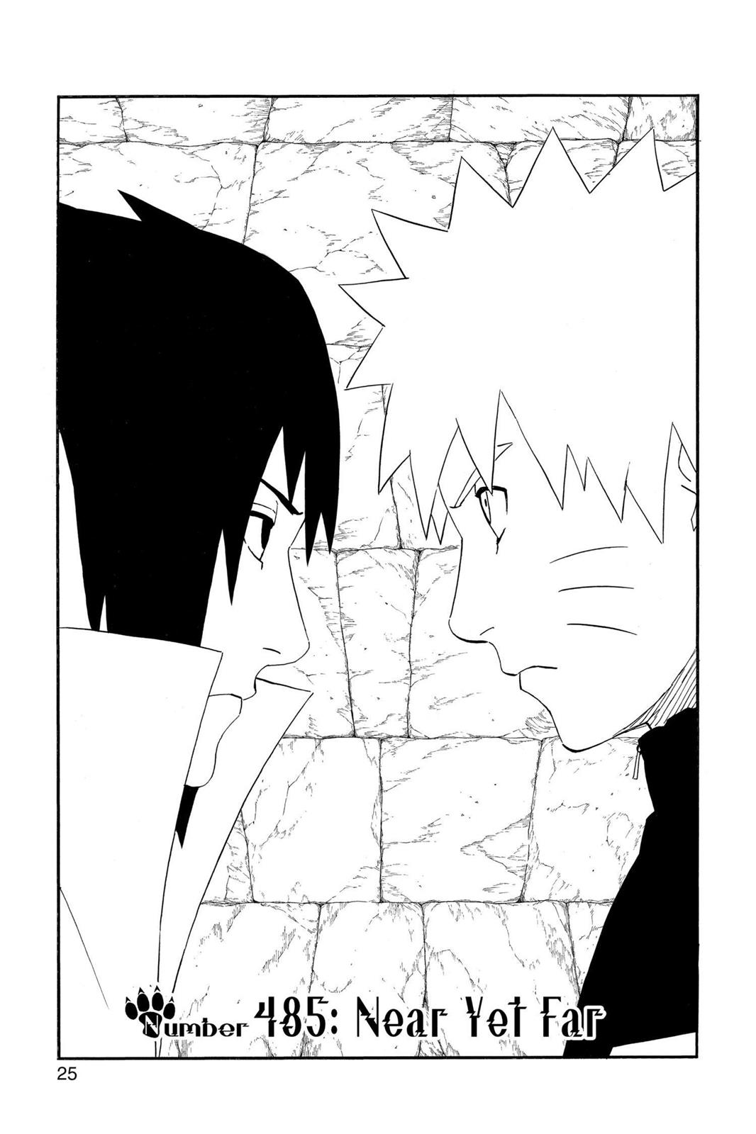 Naruto, Chapter 485 image 001