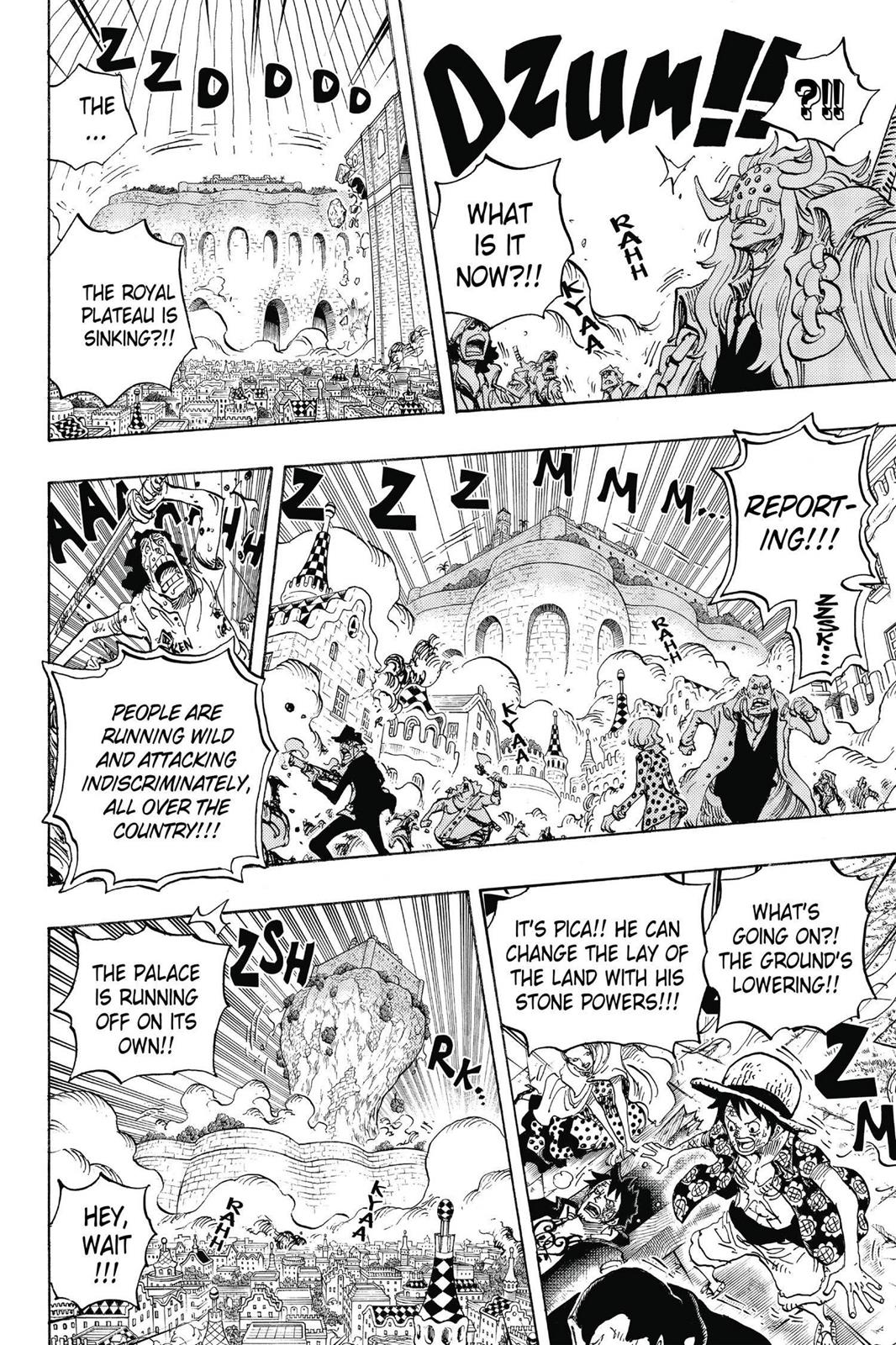 One Piece, Chapter 745 image 017