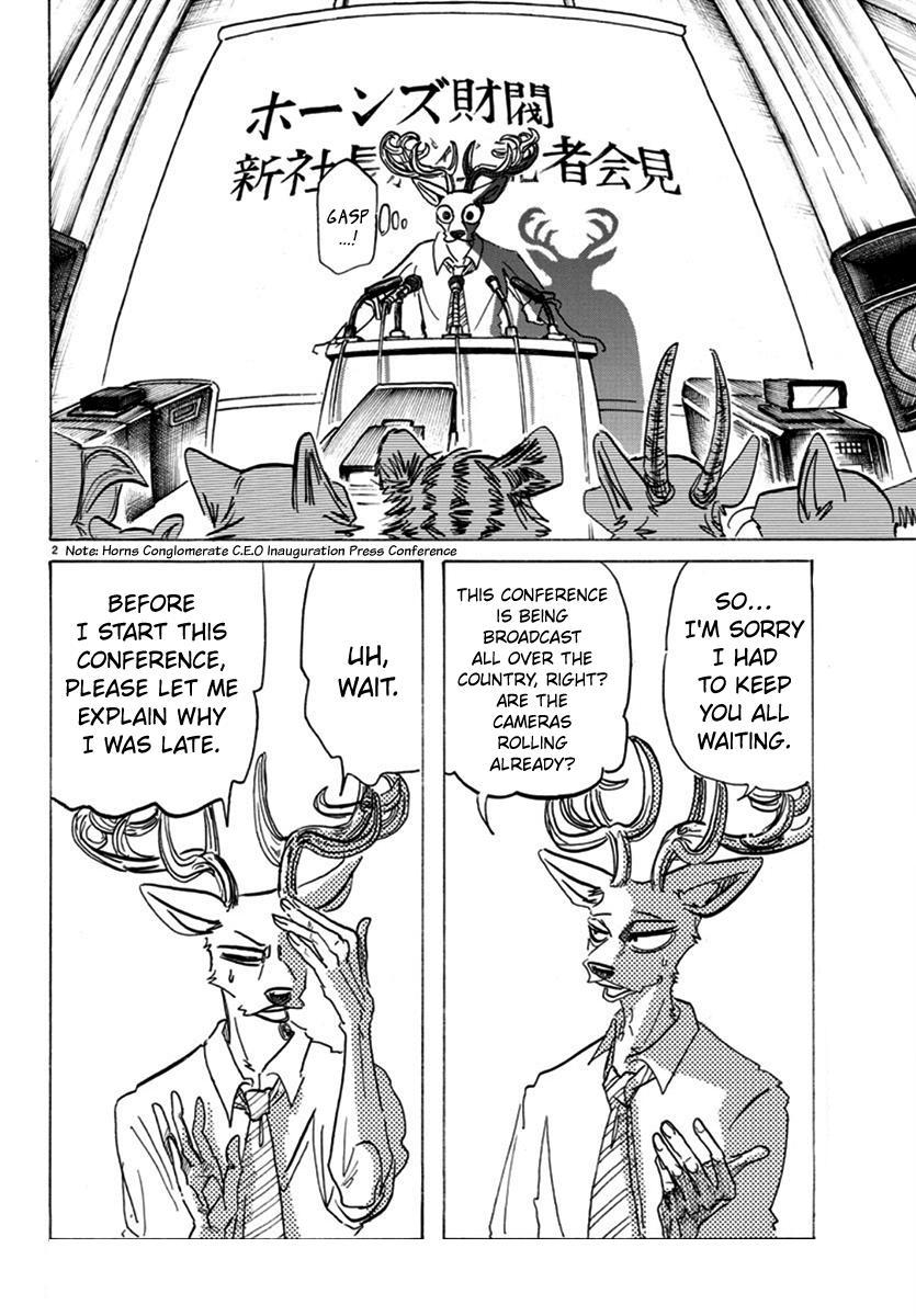 Beastars Manga, Chapter 175 image 002
