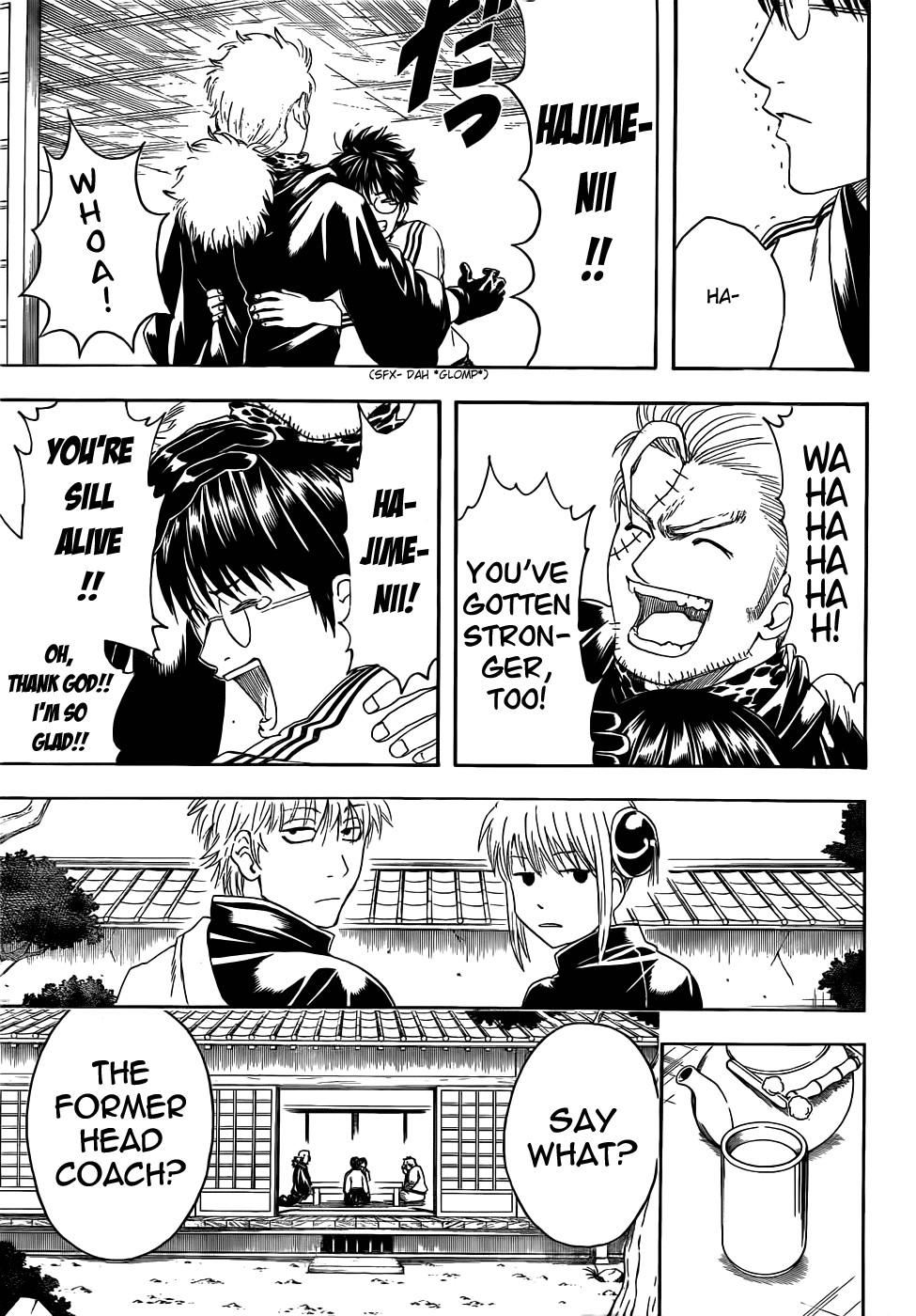 Gintama Chapter, 403 image 009