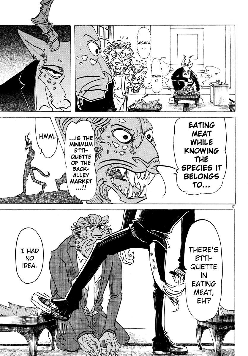Beastars Manga, Chapter 131 image 017