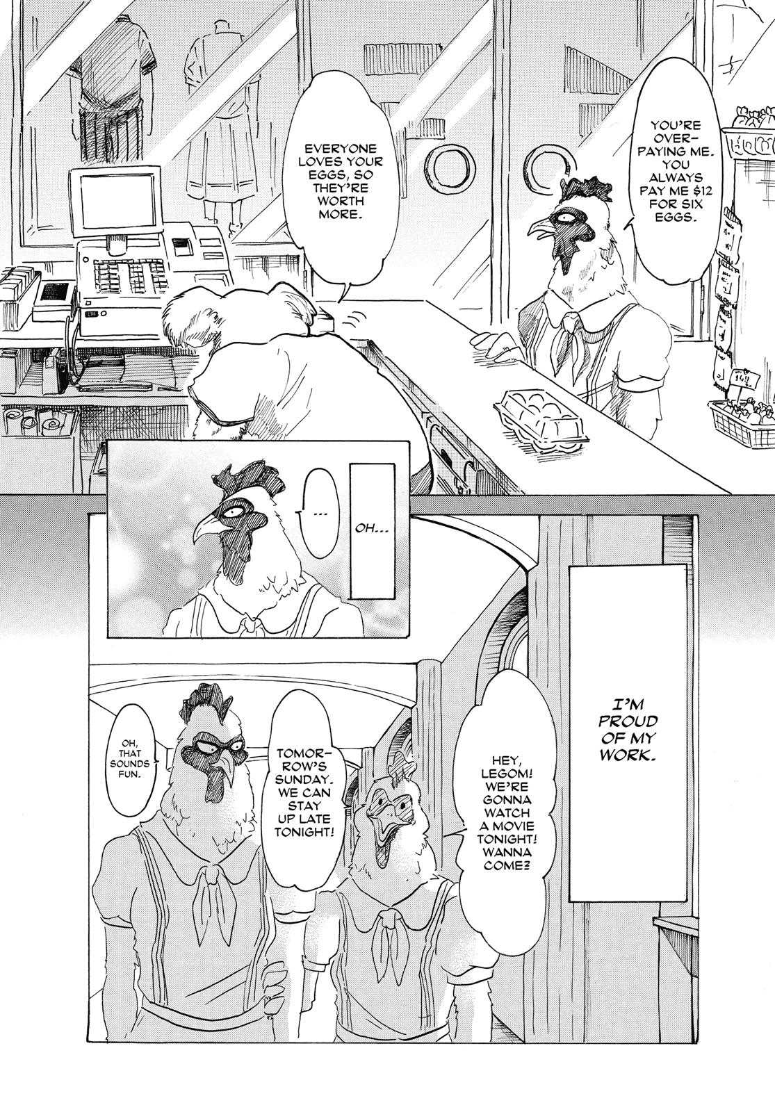 Beastars Manga, Chapter 20 image 008