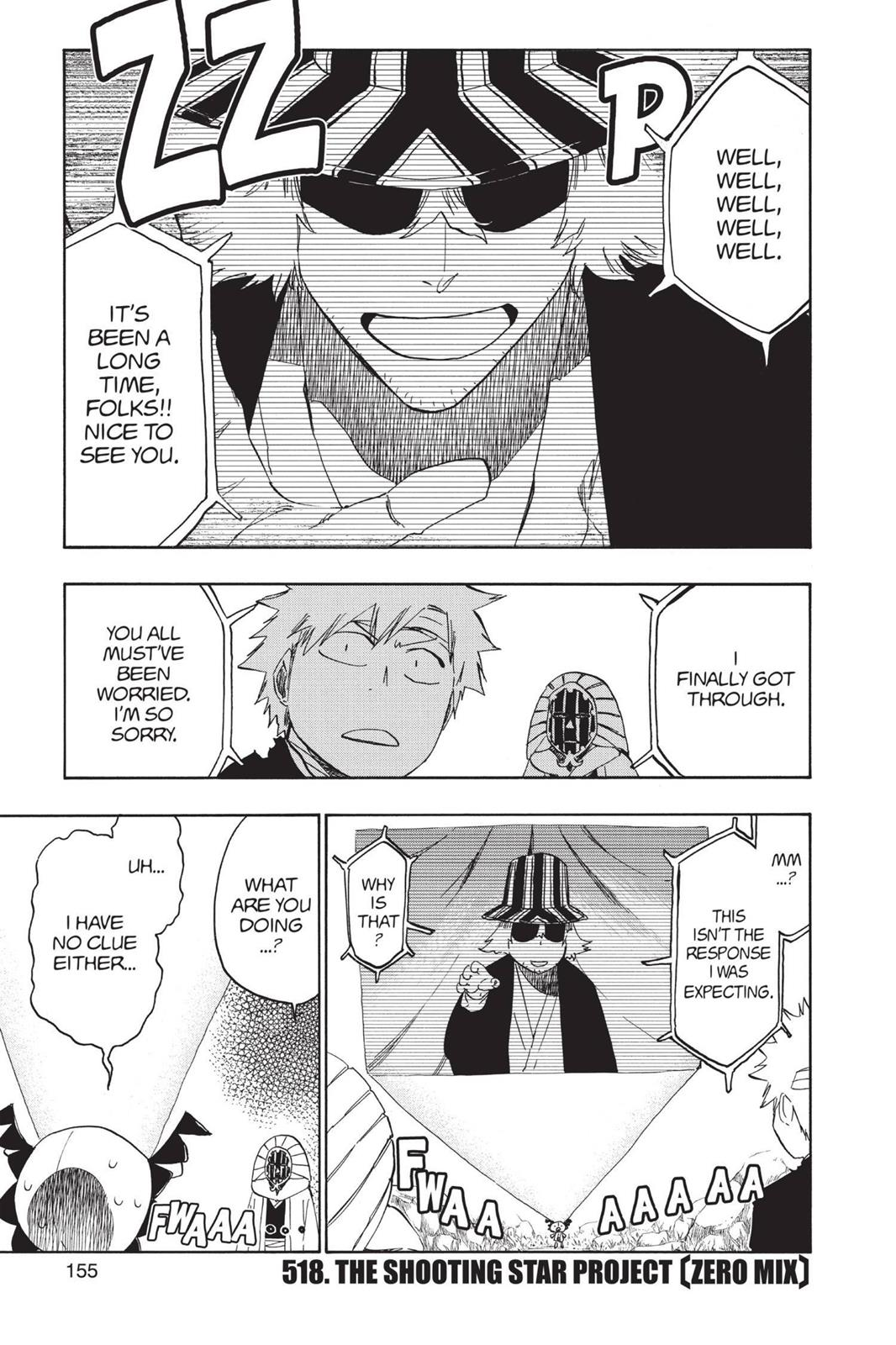 Bleach, Chapter 518 image 001