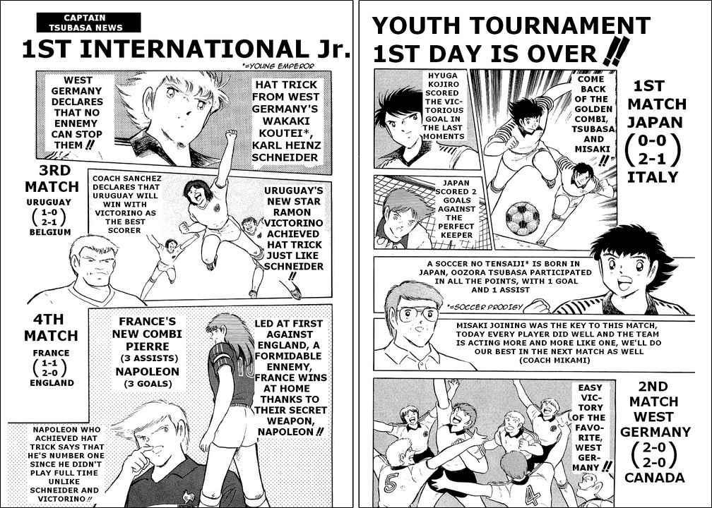 Captain Tsubasa, Chapter 93 image 001