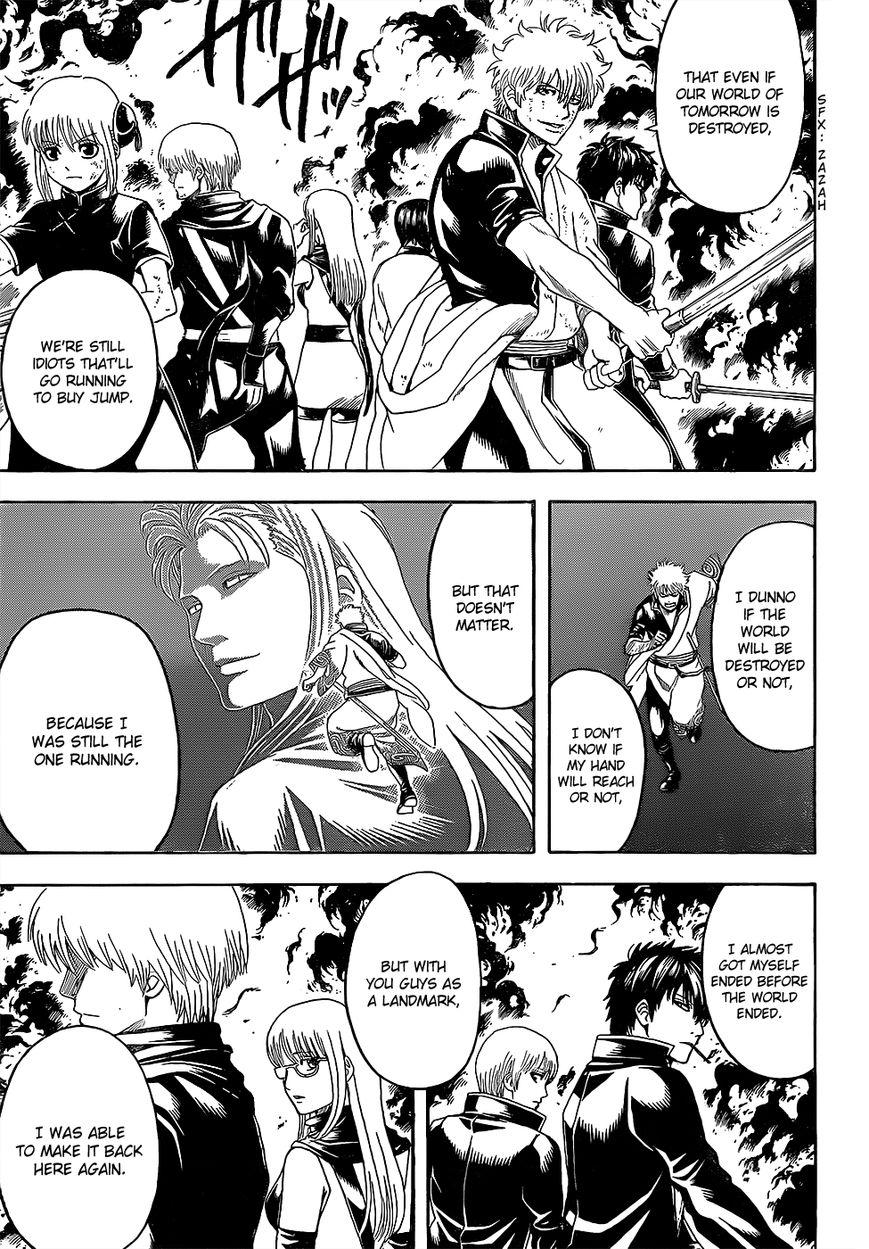 Gintama Chapter, 608 image 008