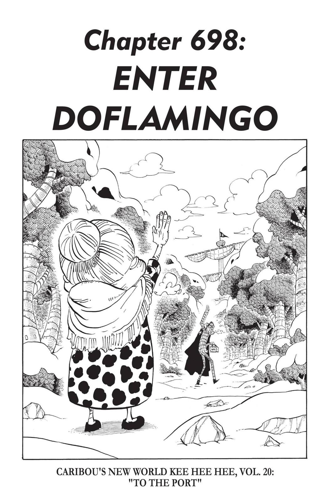One Piece, Chapter 698 image 001