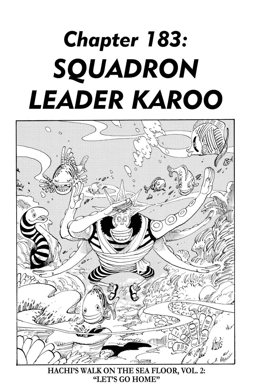 One Piece, Chapter 183 image 001