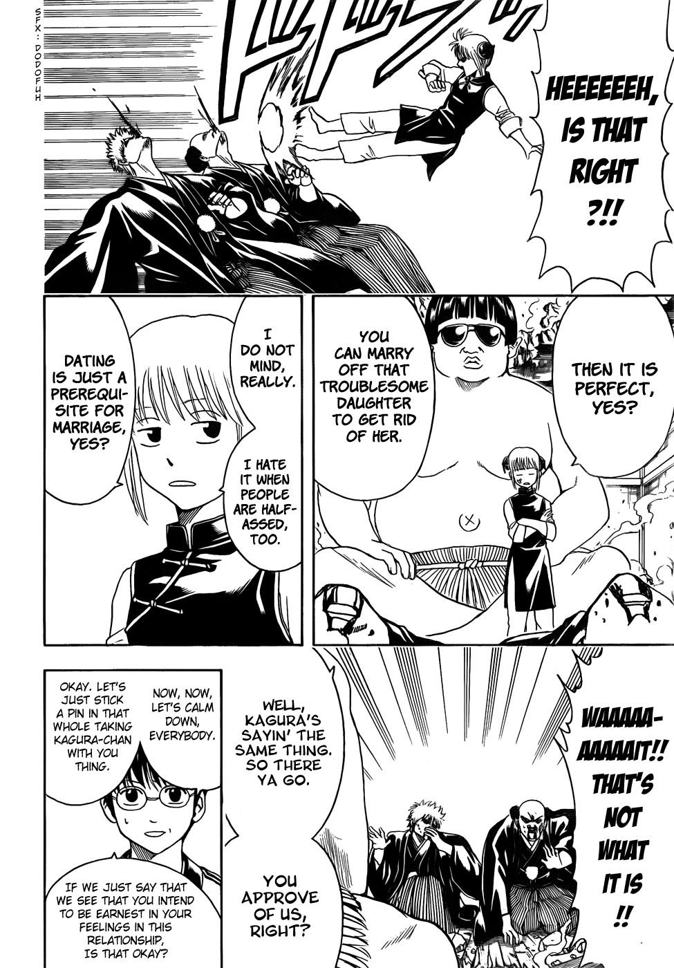 Gintama Chapter, 421 image 010