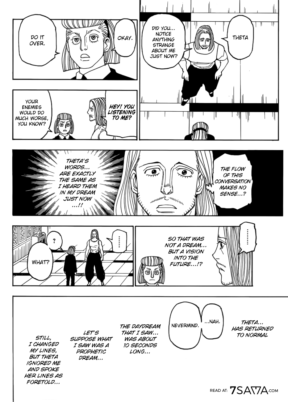 Hunter X Hunter, Chapter 387 image 005