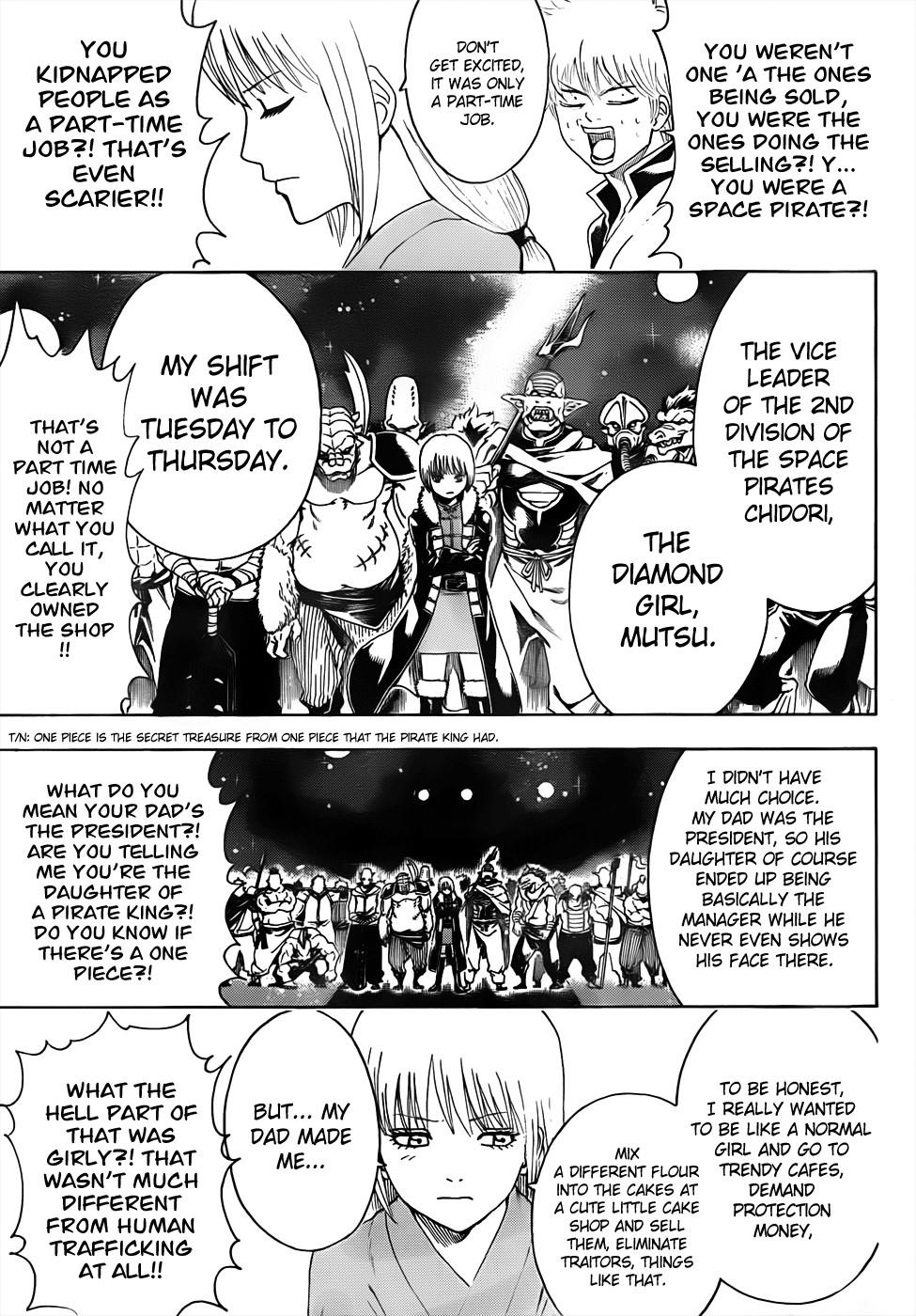 Gintama Chapter, 477 image 015