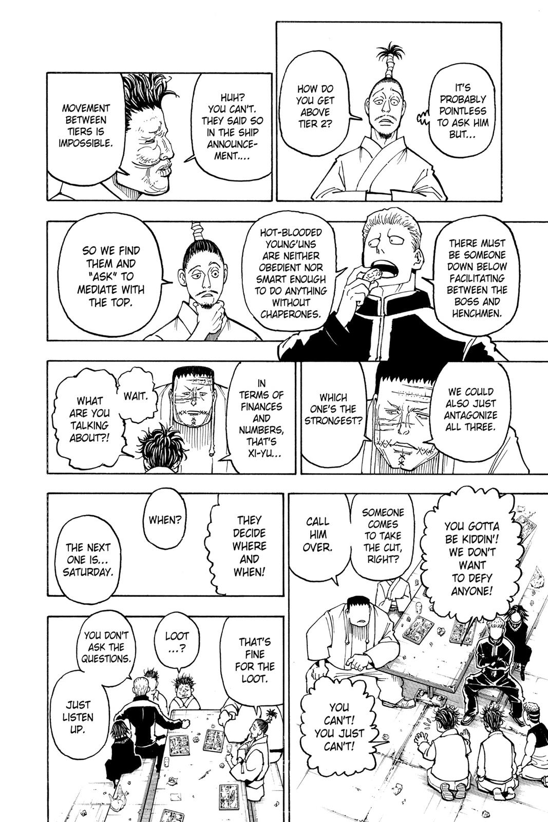 Hunter X Hunter, Chapter 371 image 022