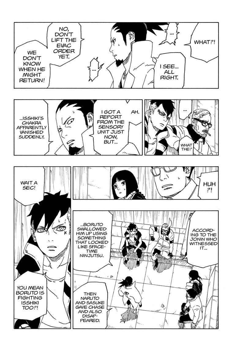 Boruto Manga, Chapter 50 image 036