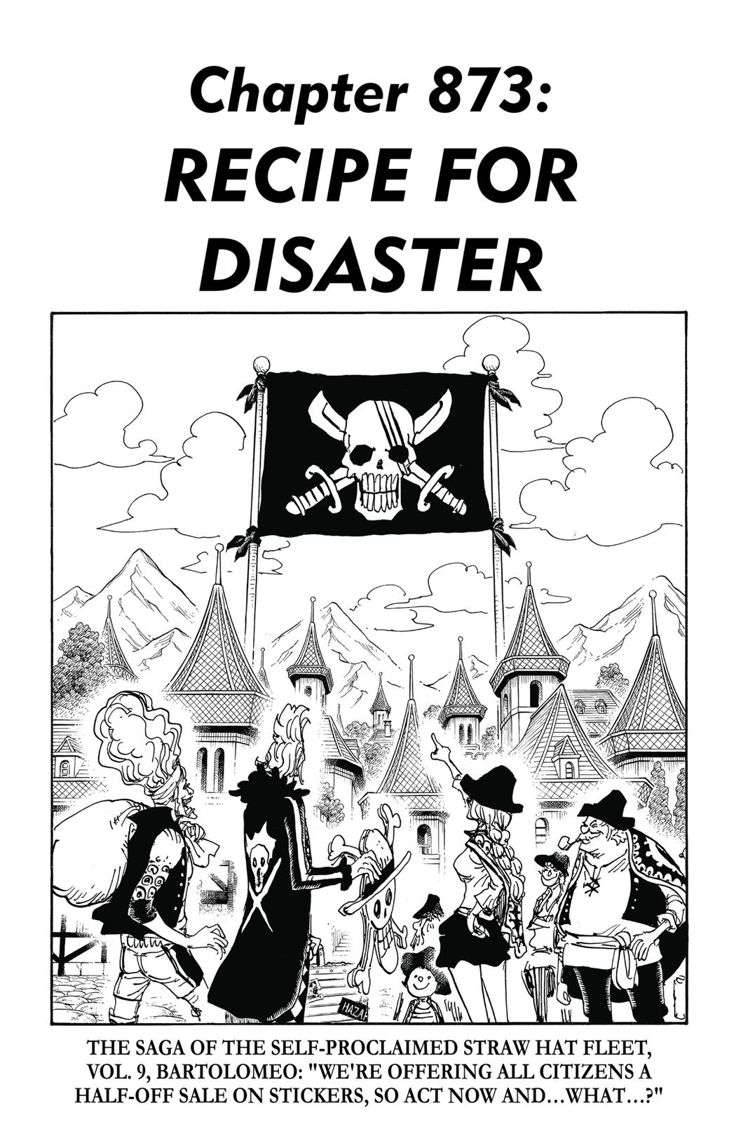 One Piece, Chapter 873 image 001