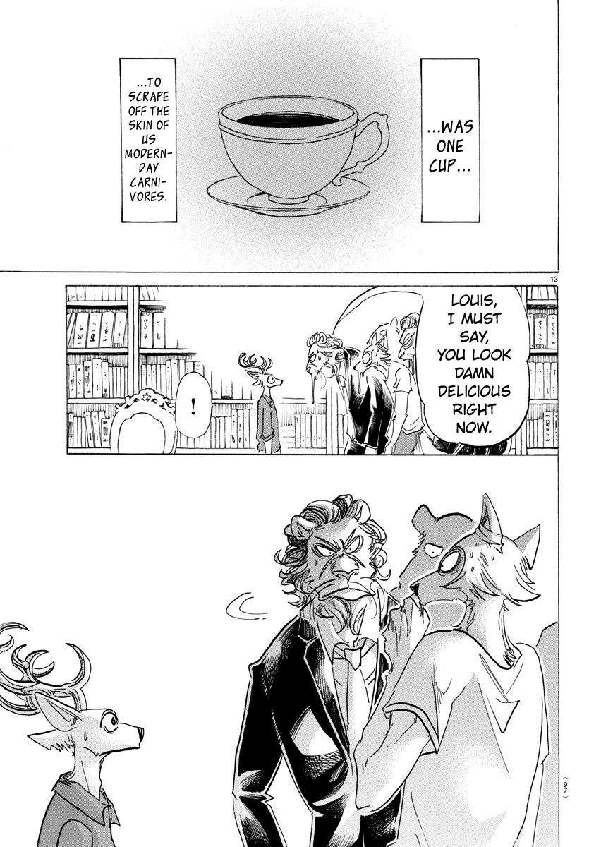 Beastars Manga, Chapter 147 image 014