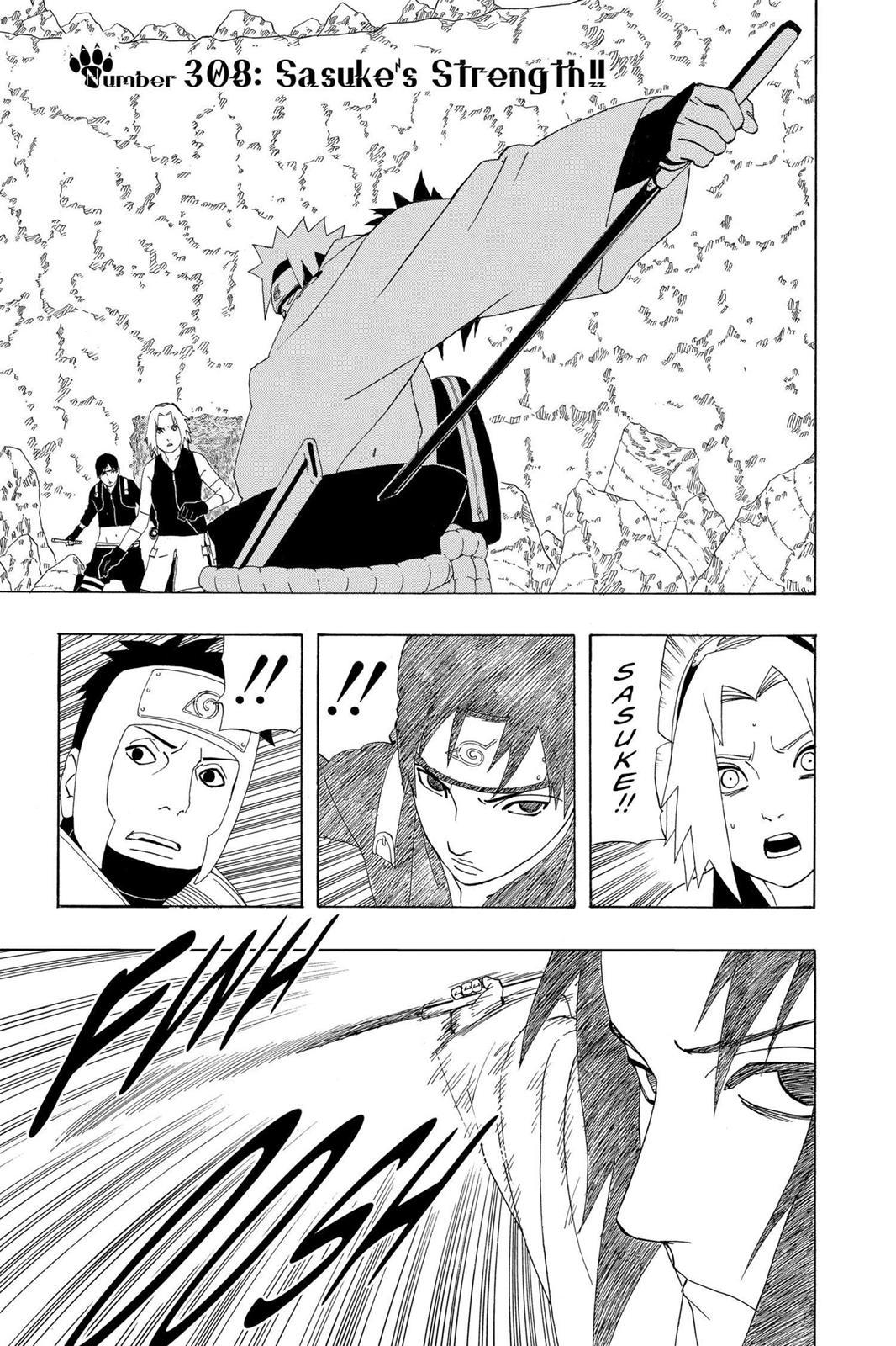 Naruto, Chapter 308 image 001
