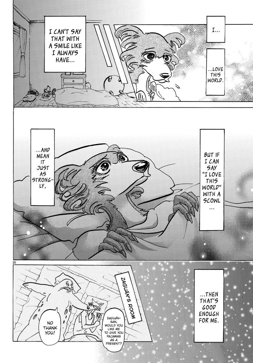 Beastars Manga, Chapter 137 image 019