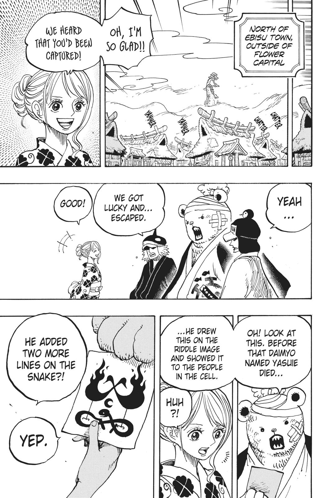 One Piece, Chapter 951 image 008