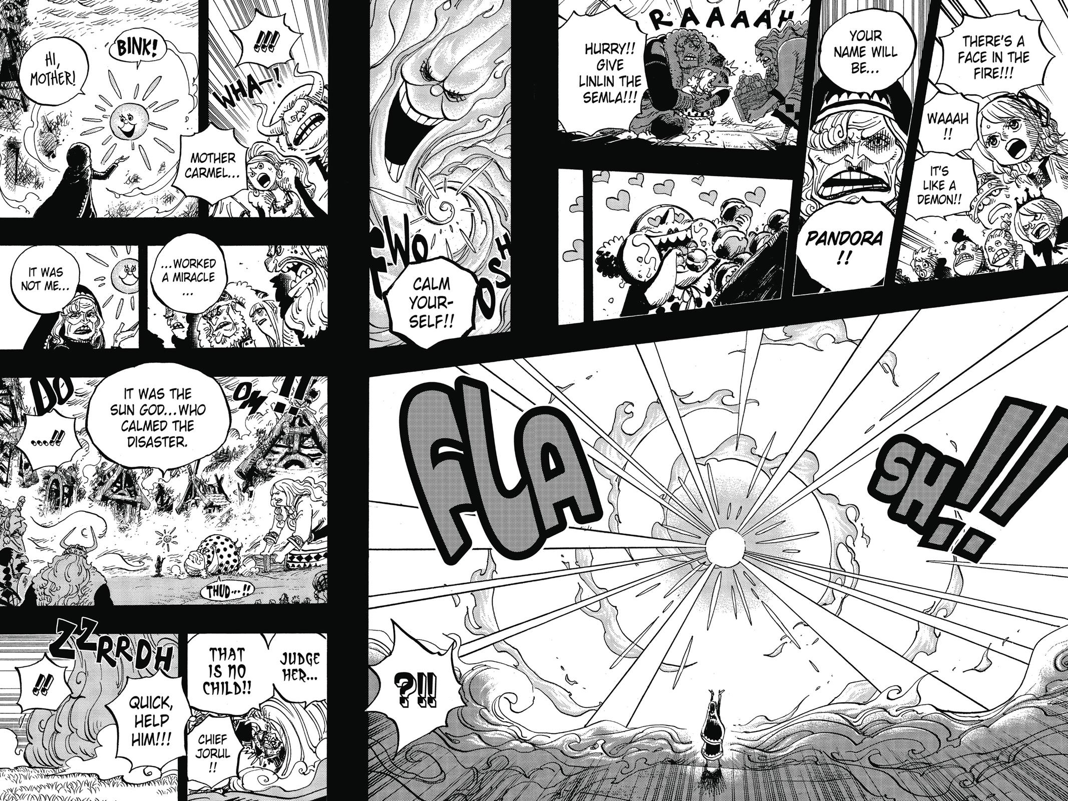 One Piece, Chapter 867 image 005