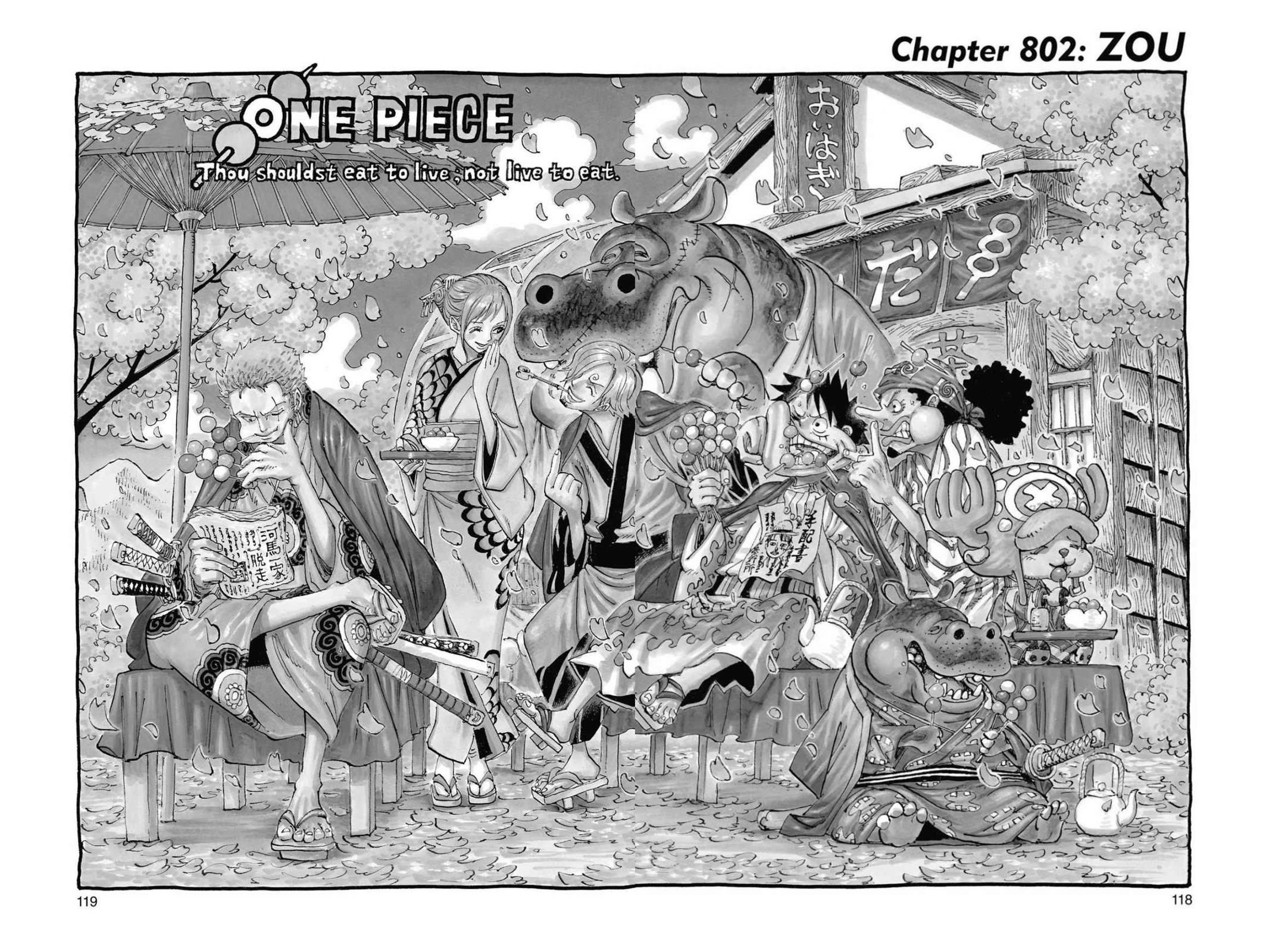 One Piece, Chapter 802 image 001