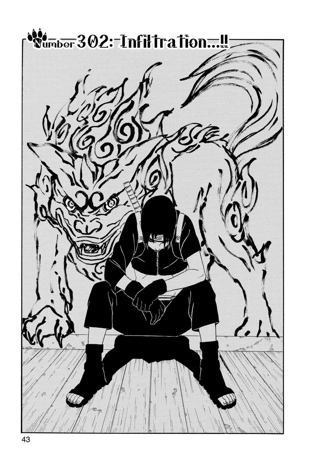 Naruto, Chapter 302 image 001