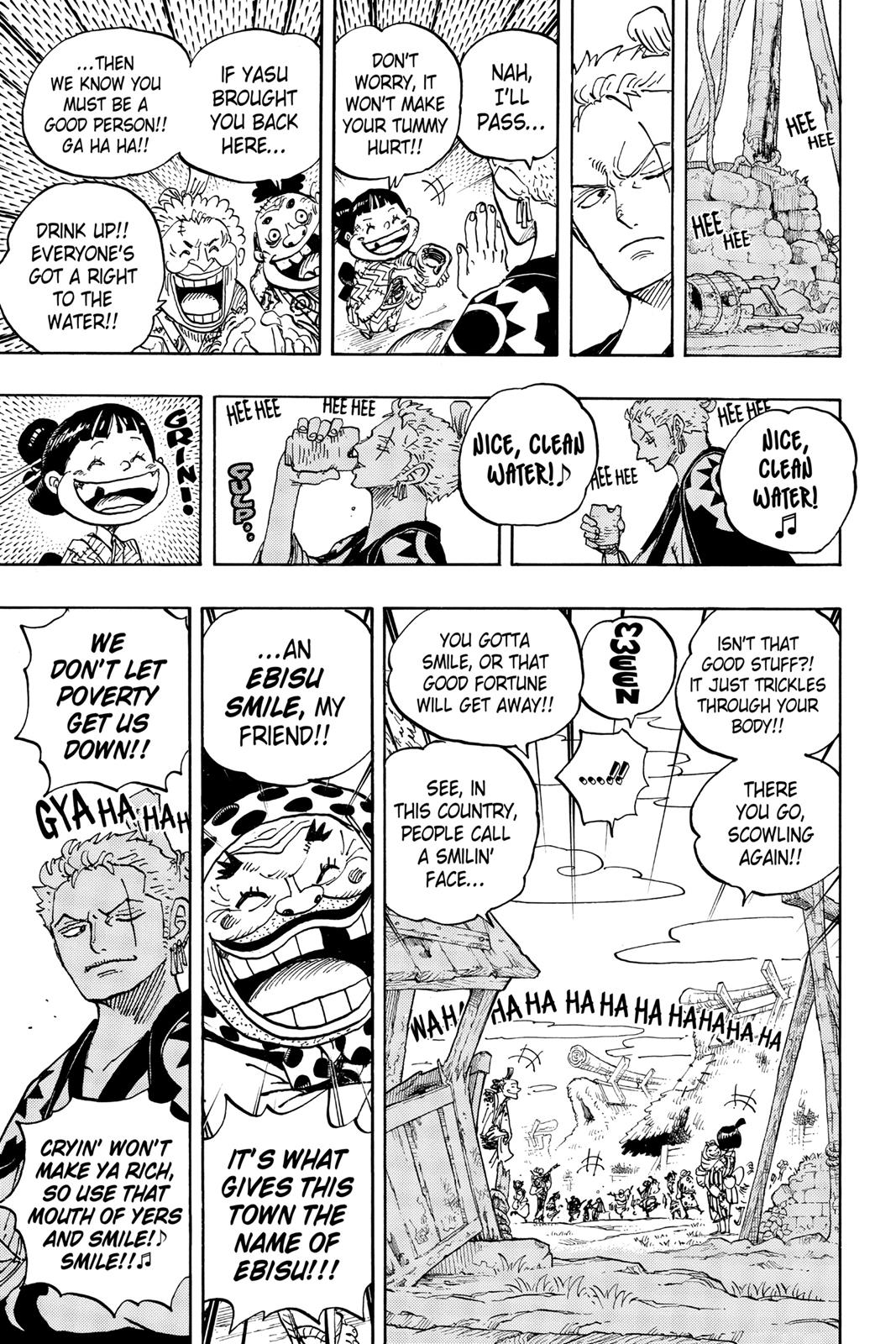 One Piece, Chapter 930 image 005