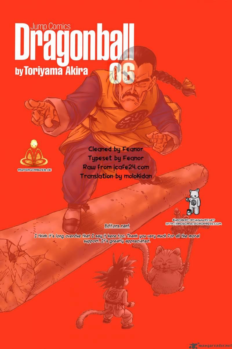 Dragon Ball, Chapter 87 image 001