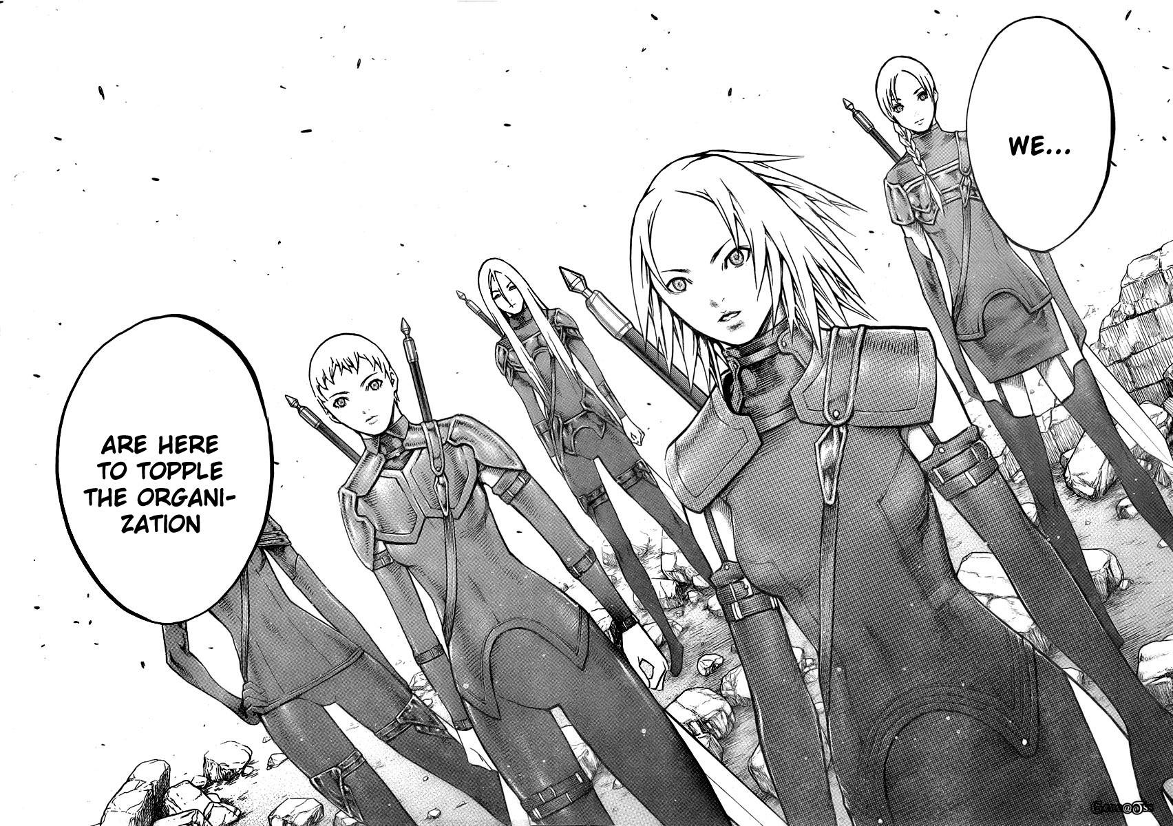 Claymore, Chapter 79 image 009