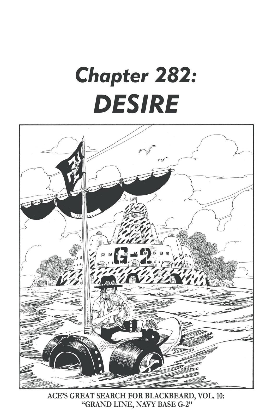 One Piece, Chapter 282 image 001