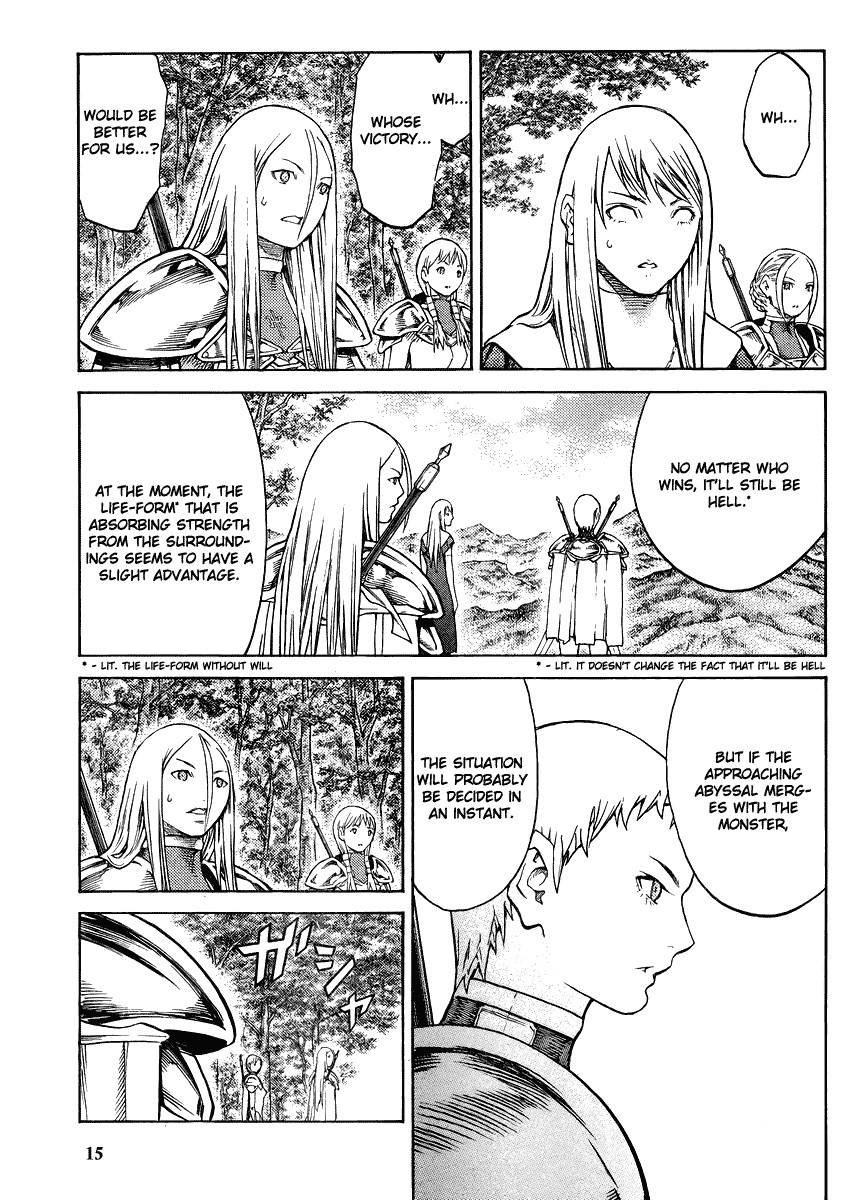 Claymore, Chapter 130 image 013